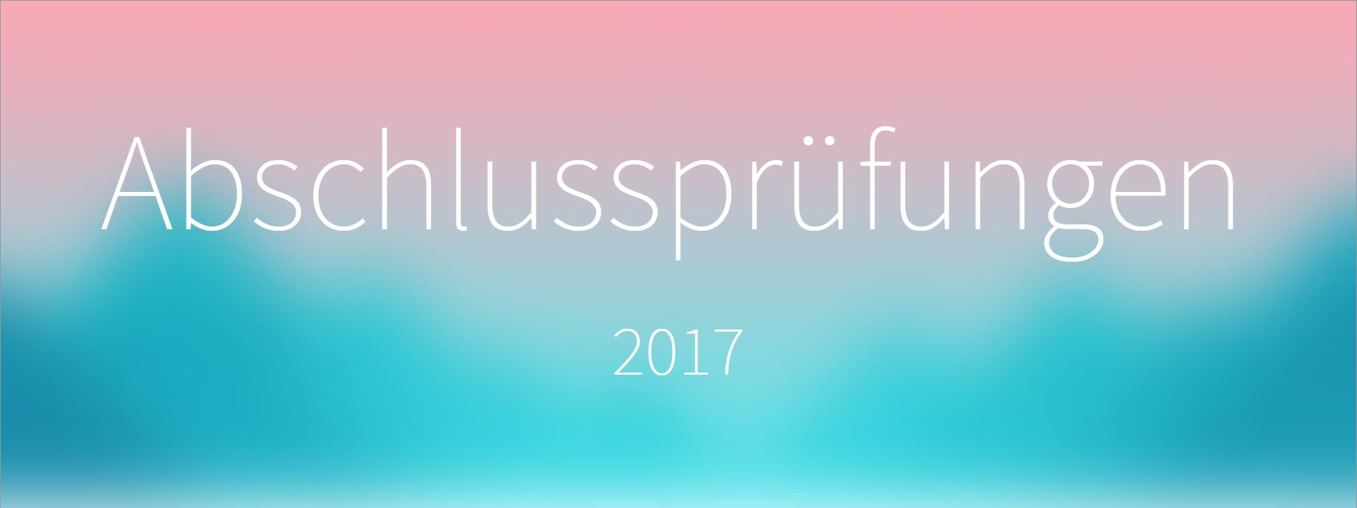 Die Abschlussprüfungen an der Realschule Murnau