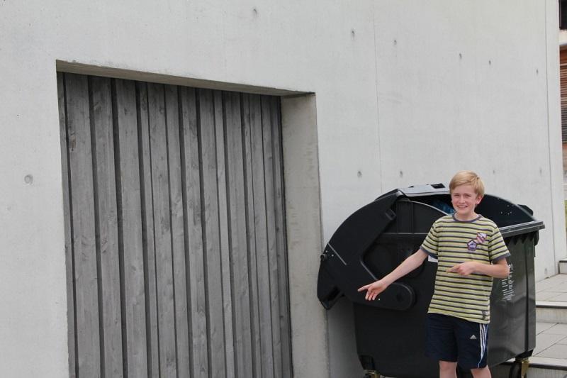 Unbekannte Orte an der Realschule Murnau (Teil 5): Die geheimnisvolle Garage…