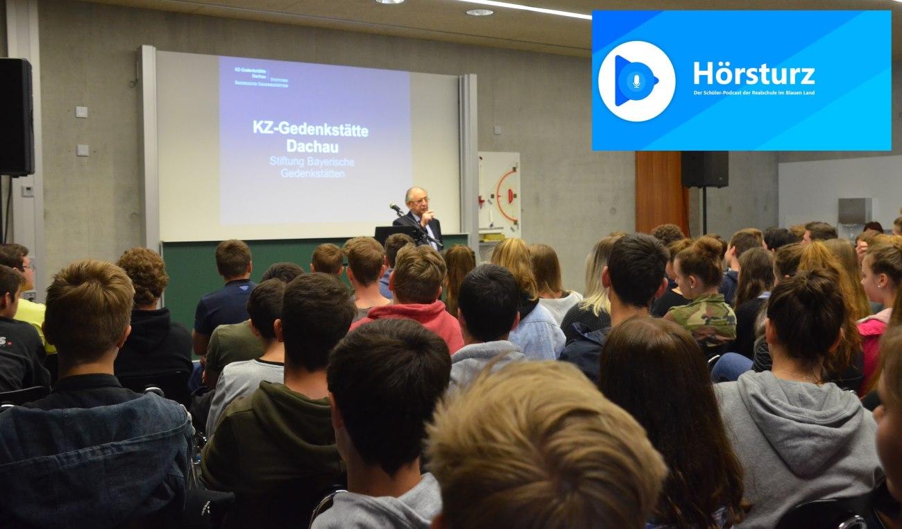#hörsturz Schüler-Podcast Folge 11: Der Holocaust-Überlebende Abba Naor zu Gast an der RS Murnau