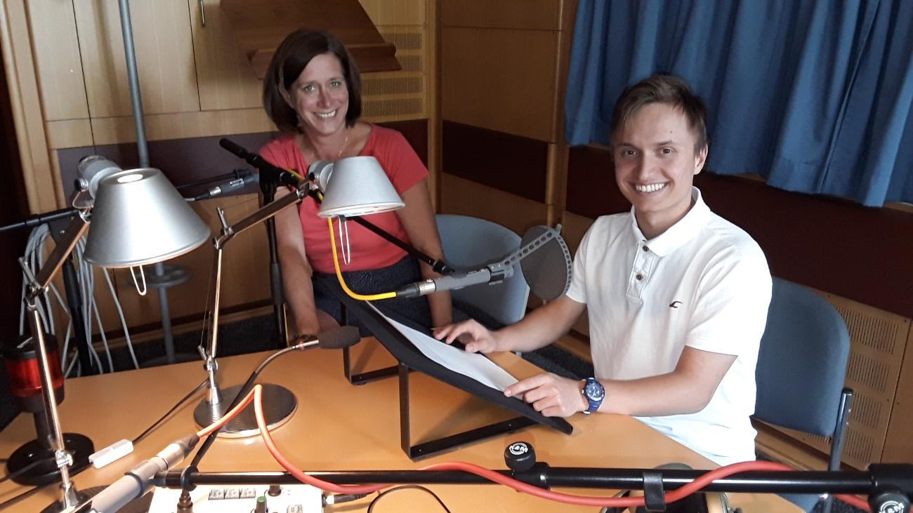 Unser Blogger Nick beim Bayerischen Rundfunk – ein Praktikum der besonderen Art