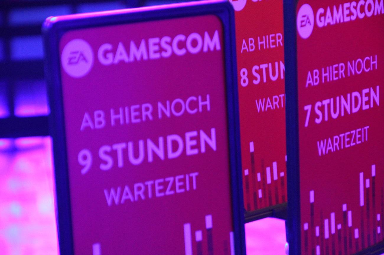 Die Fotos vom ersten Tag auf der Gamescom 2018