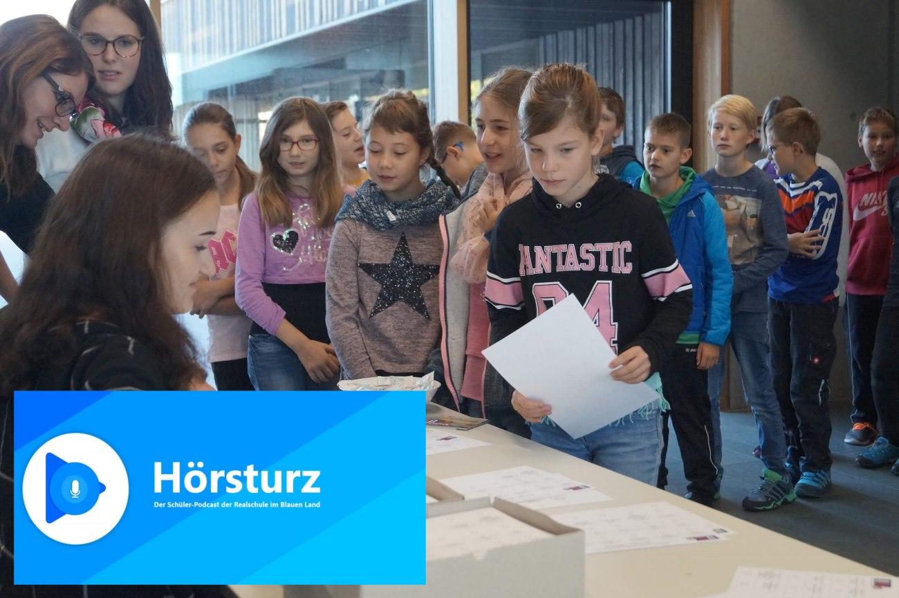 #hörsturz Schüler-Podcast Folge 12: Wenn SchülerInnen an die Urne gehen – die U18-Wahl an der Realschule im Blauen Land!