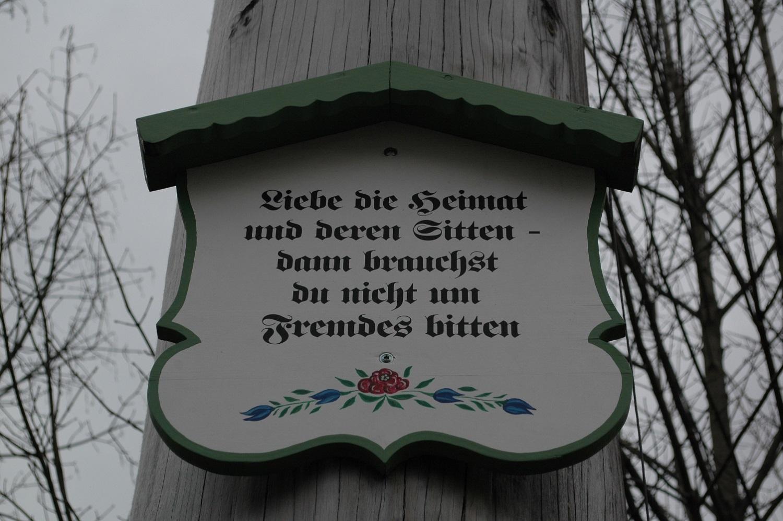 Wie ein kleines Schild in Murnau zum großen Aufreger wurde
