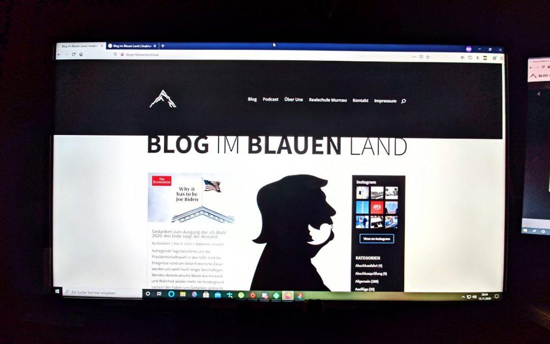 Alle technischen Möglichkeiten nutzen – Blog erhält MEGA-Update!