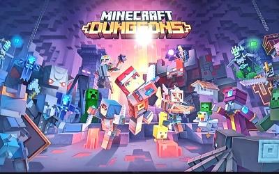 """Wird """"Minecraft Dungeons"""" der neue Kassenschlager von Mojang? 10 Millionen Spieler in fast einem Jahr."""