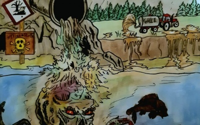 Karikatur/Zeichnung der Woche: Natur – unverzichtbar aber beständig ignoriert